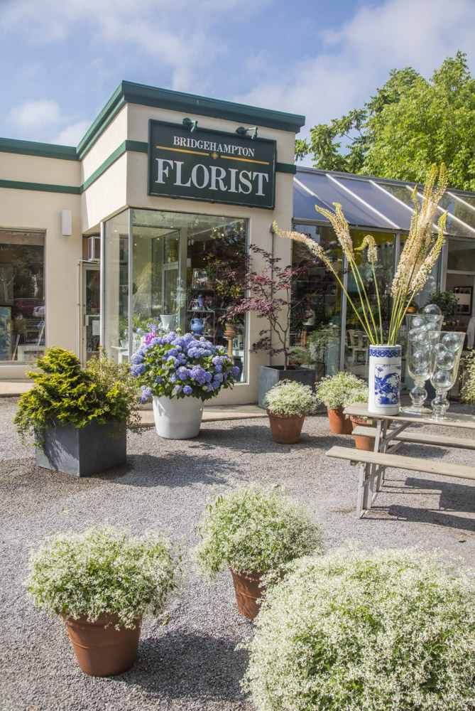 The Bridgehampton Florist shop
