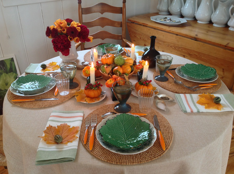 Thanksgiving table decoration simple fun the Simple thanksgiving table decorations
