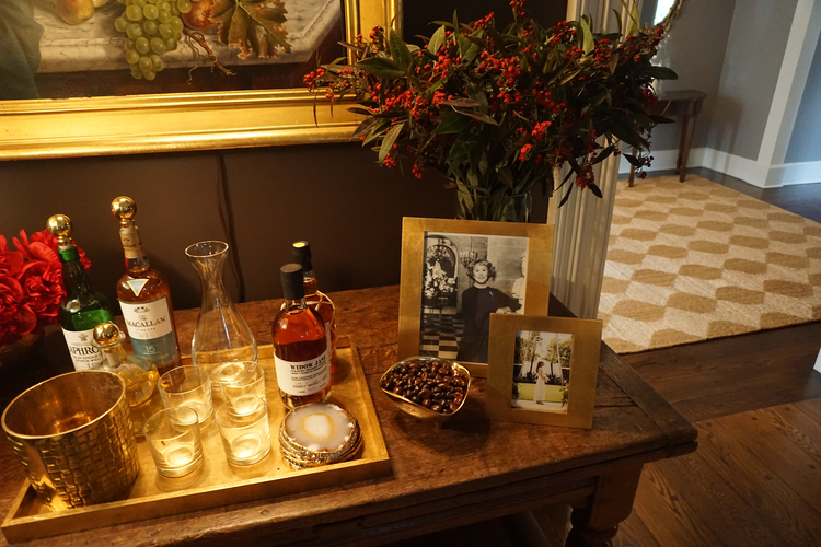 Aerin Lauder for Elle Decor by The Bridgehampton Florist