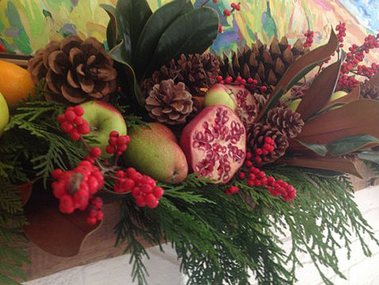 Fruit Holiday Centerpiece