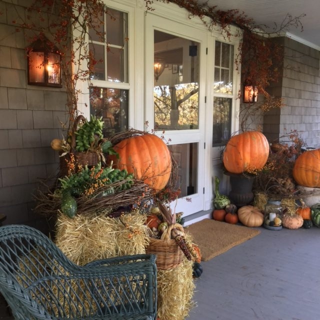 Thanksgiving Hamptons Decor